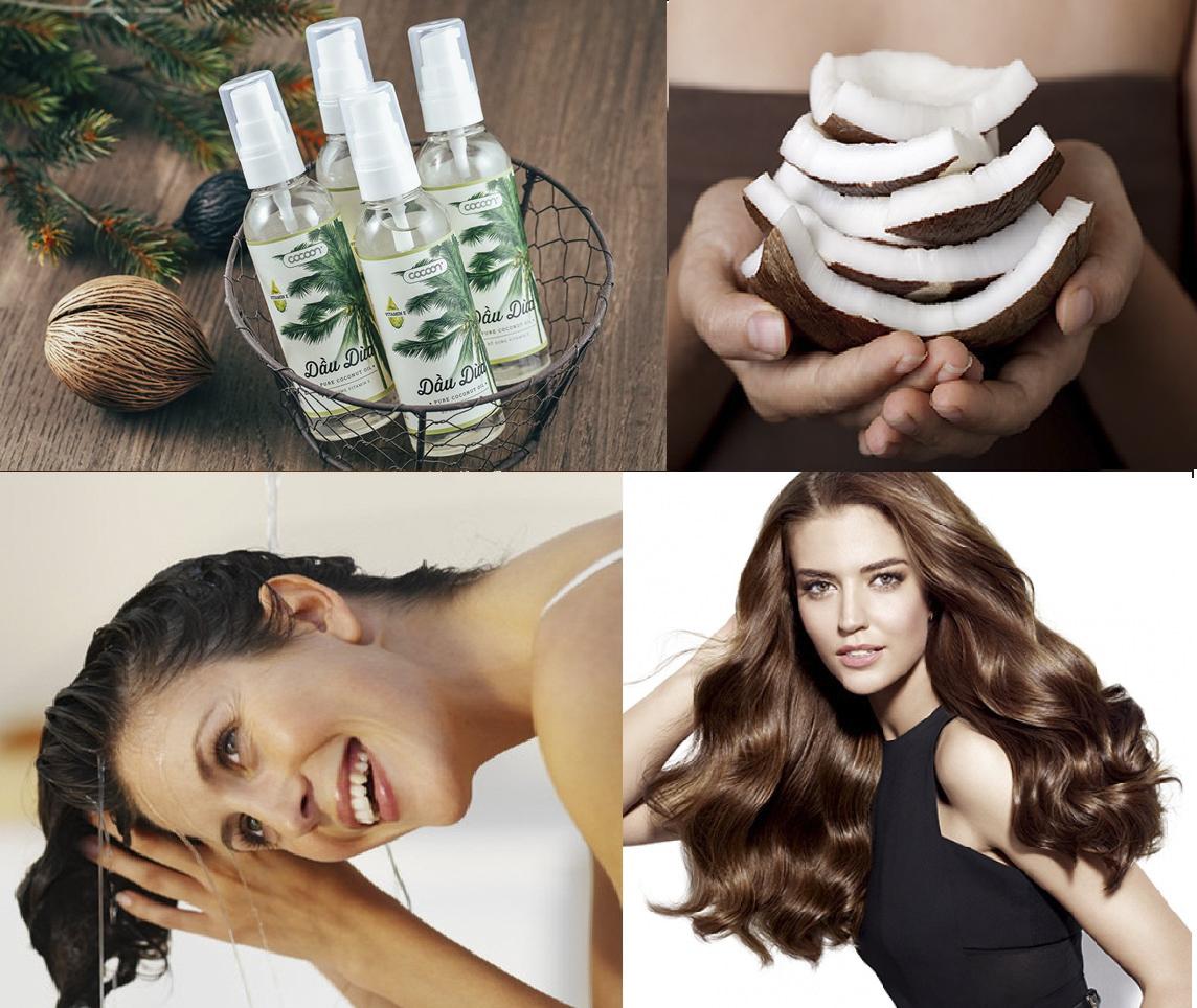 Mọc tóc nhanh siêu hiệu quả từ tinh dầu dừa